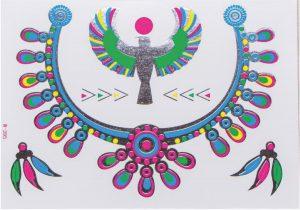 planche de tatouages