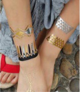 planches de tatouages temporaires